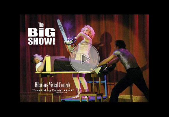 Spectacle de magie comique – The Big Show