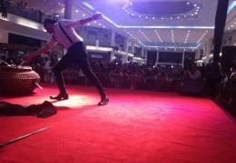 centres commerciaux, doha, qatar, danseurs, magciiens, artistes de cirque
