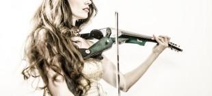 Violoniste électrique côte d'azur