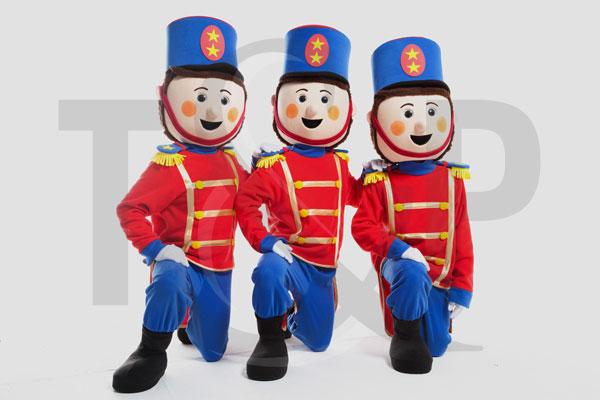 Les mascottes soldats