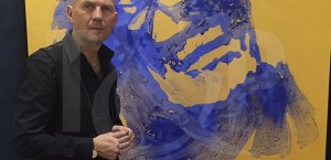 Peintre performer Côte d'Azur
